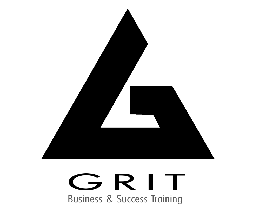 GRIT Business and success training logo. Helping others to live their purpose driven life.